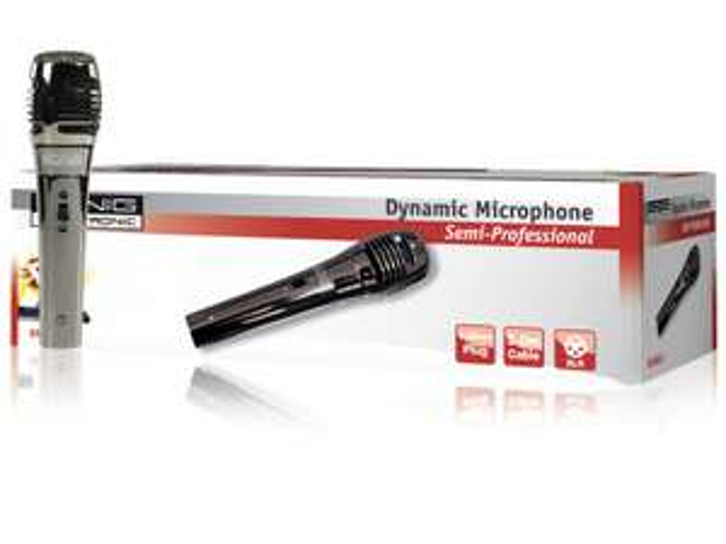 Microphone dynamique unidirectionnel Konig KN-MIC40