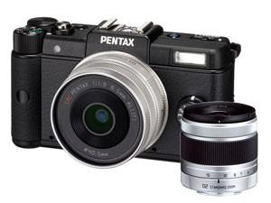 PENTAX  Appareil Photo Numérique Hybride Pentax Q - Noir + objectif 8.5mm f/1, 9 + objectif 5-15mm/2,8-4,5