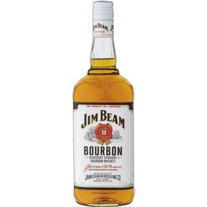 3 bouteilles de bourbon Whiskey Jim Beam