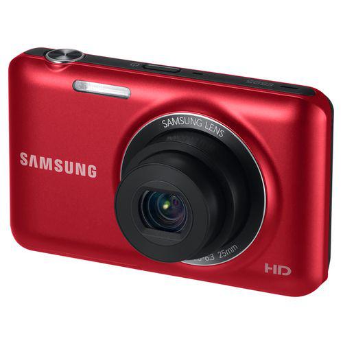 Appareil photo Samsung ES95 - 16.1 Mp - Zoom 5x - LCD 2.7'' - Vidéo HD - Rouge