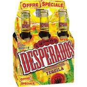 3 packs de 6 Desperados 33cl