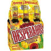 3 packs de 6 Desperados 33cl