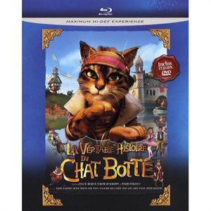 Blu-ray La véritable histoire du chat botté (1 Disc + 1 DVD)