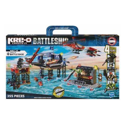 Jeu de construction Kre-O Battleship missile base