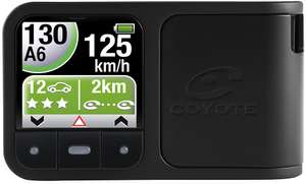 Avertisseur Radar Mini Coyote Plus à 1€ (Avec abonnement 12 mois à 12€ / mois)