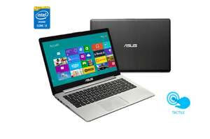 "PC Portable 14"" Tactile Asus S400CA 14"" Core i3, 4Go, 500Go HDD"