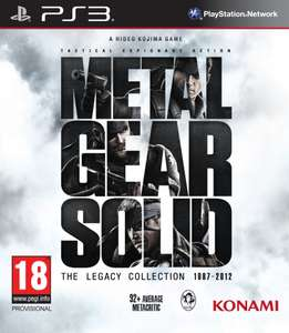 Jeu PS3 Metal Gear Solid Legacy