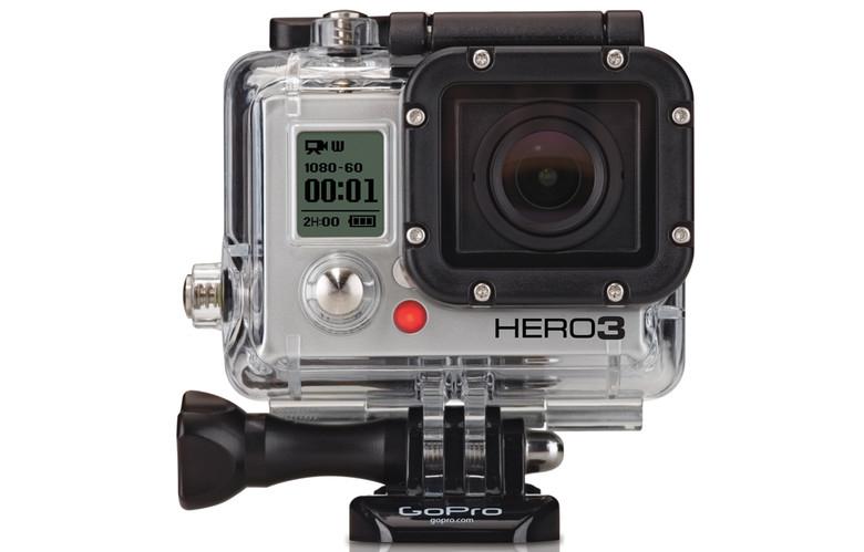 Camera GoPro HERO3+ Silver Edition
