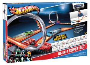 Super Set Hot Wheels 10 en 1