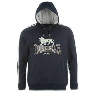 Sweat Shirt Lonsdale 2 Stripe Hoody Homme