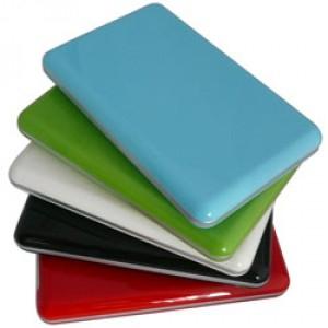 """Boitier USB3 pour disque 2,5"""" - Rouge"""