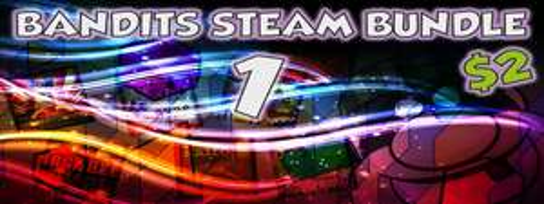 Bandits Steam Bundle, 7 jeux Steam (Q.U.B.E, Kaïro, Storm in Teacup, Clones, Ibomber Attack...)