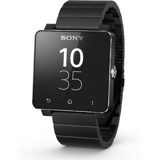 Montre connectée Sony Smartwatch 2, bracelet métal