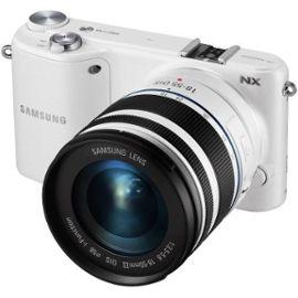 Appareil photo hybride Samsung NX2000 Kit blanc + 3,5-5,6/20-50 ED II