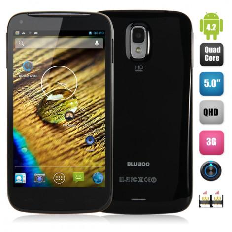"Smartphone 5"" Bluboo X1: 3G, MTK6582 Quad Core, Android 4.2,QHD, 1Go RAM"