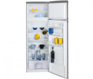 BEKO Réfrigérateur 2 Portes DSA28001S - Argenté