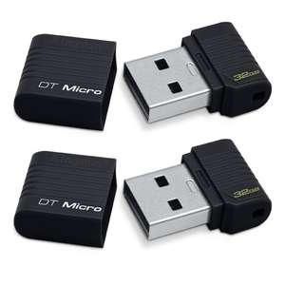Pack de 2 Clés USB 2.0 Kingston DataTraveler 32Go
