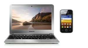 "Pack Samsung: Chromebook 11,6"" + Smartphone Galaxy Y"