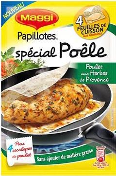 [A partir du 11/04] Papillotes Spécial Poêle - 3 saveurs différents gratuites (via Shopmium)