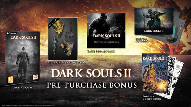 Précommande : Dark Souls II + Bonus sur PC (Dématérialisé - Steam)