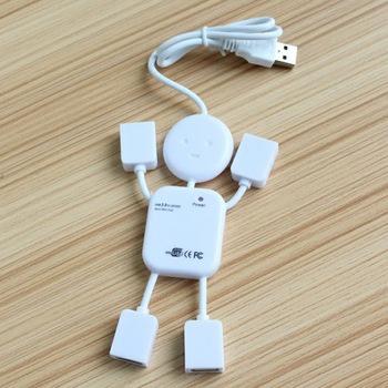 Hub 4 ports USB 2.0 Lilliputian
