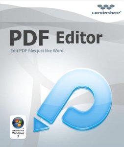 Wondershare PDF Editor avec OCR Gratuit sur PC & MAC (sans OCR)