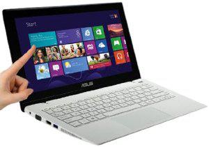 "PC Portable tactile 11,6"" Asus X200CA-CT156H (Celeron 007u 1,5 GHz, 500 Go, 4 Go RAM, Azerty)"