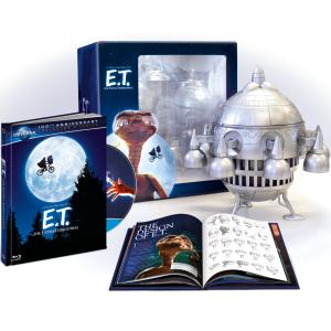 E.T., l'extra-terrestre - Edition Collector Blu-ray + Copie digitale / UV + Vaisseau spatial + Livre