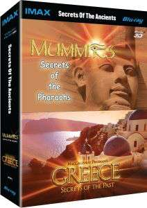 Coffret 2 Blu-ray 3D & 2D - IMAX: Secrets of The Ancients Collection