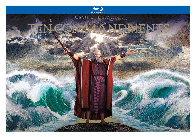 Coffret 3 Blu-Ray Les Dix commandements - Édition Collector