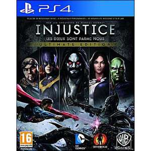 Injustice Ultimate Edition (GOTY) sur PS4