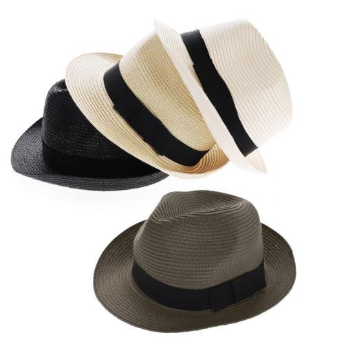 Chapeau de paille style de Panama