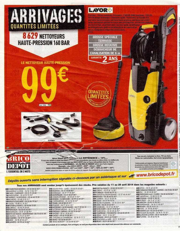 Nettoyeur haute pression Lavor 160