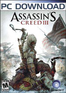 Assassin's Creed 3 sur PC dématérialisé (Steam)