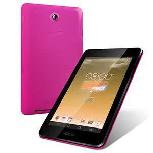 Tablette Tactile Asus 7'' (1280x800) IPS - HDD 8 Go - Quad-core - RAM 1 Go - BLuetooth 4.0 - Android 4.2 - Rose