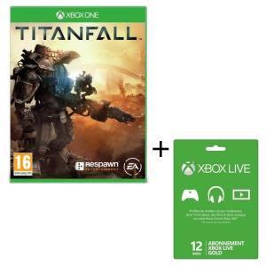 Jeu Titanfall Xbox One + Carte Xbox Live 12 mois