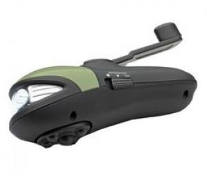OSIM Appareil dynamo de Masseur à manivelle avec lampe de poche uDynamo OS9221