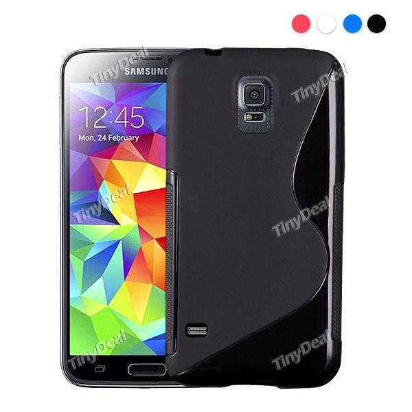 Le 10/04 : Coque en silicone pour Samsung Galaxy S5
