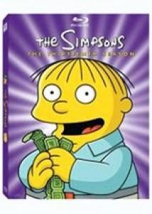 Les Simpson Intégrale saison 13 Import zone 1 Blu-ray VO (sous-titré français)