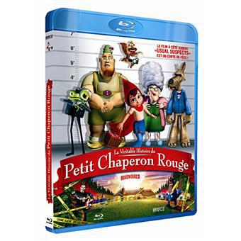 La Veritable histoire du Petit Chaperon Rouge [Blu-Ray] : 2.77€ en retrait Fnac