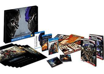 Transformers 3 : La face cachée de la Lune Edition Collector  Blu-ray (Avec Transformers 1 & 2)