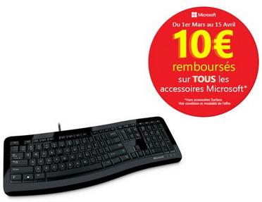 Clavier Microsoft Comfort 3000 (ODR 10€)