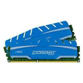 Mémoire  RAM Crucial Ballistix Sport XT  16 Go (2 x 8 Go) DDR3 1866 MHz