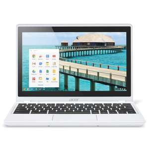 "PC portable tactile 11.6"" Acer Chromebook C720p-29552G03aww - SSD 32Go"