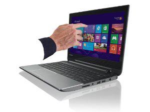 "PC Portable tactile 11,6"" Toshiba Satellite NB10t-A-101 - Celeron N2810 2 GHz, 500 Go, 4 Go RAM, Windows 8"