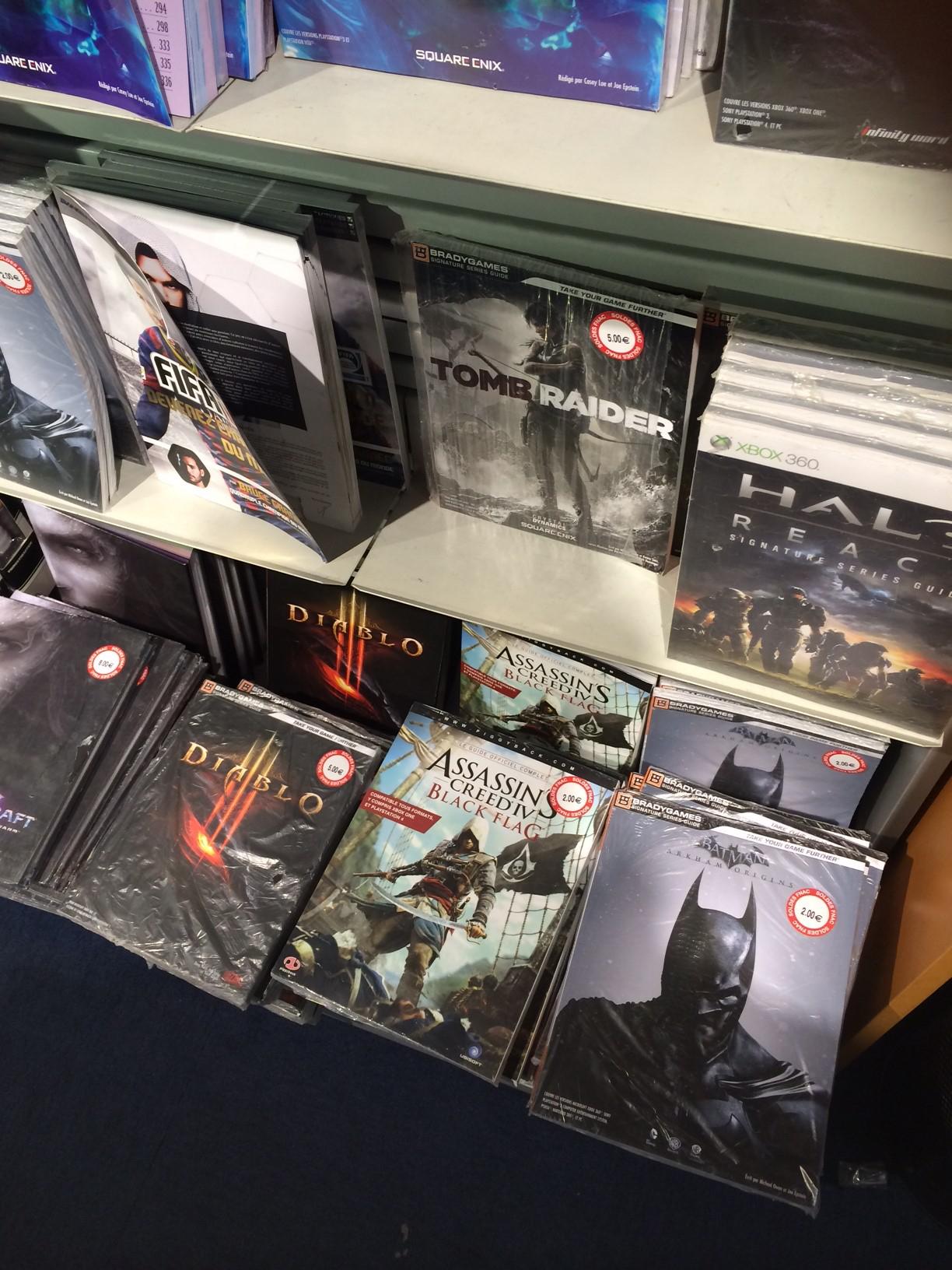 Sélection de guides pour jeux (AC IV, Diablo 3, SC2, Batman...)