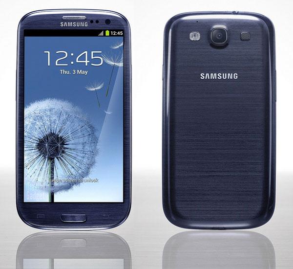 Smartphone Samsung Galaxy S3 32Go Bleu - Bloqué SFR (avec ODR 50€)