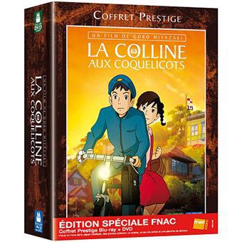 La colline aux coquelicot (Ghibli) - Blu-Ray - Coffret Prestige Edition Spéciale Fnac