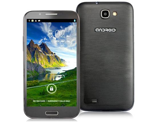 "Smartphone HTM-Landvo H7189 - Ecran 5.3"", Quadcore, Ram 1Go"