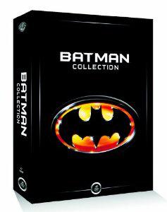 Coffret Batman collection : Batman - Batman le défi - Batman forever - Batman et Robin